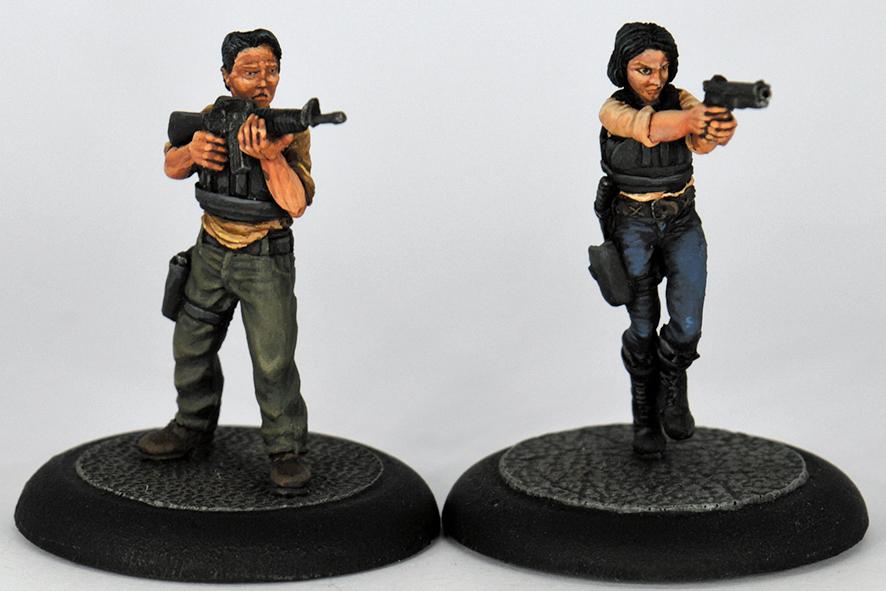STEVE & LAURIE (RESIN)